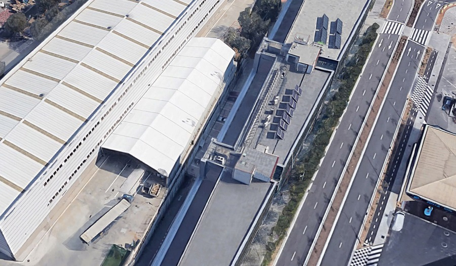 Carpas industriales para almacenaje