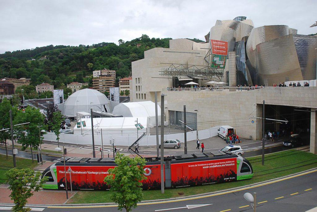 Carpas en Bilbao