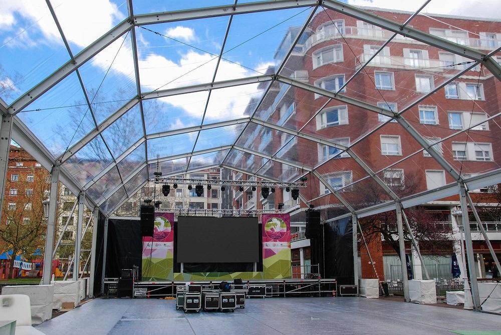 Carpas para eventos Bilbao