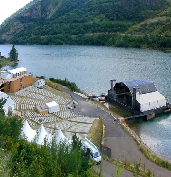 Trabajos de Aracarpas: Carpas en el Pirineo