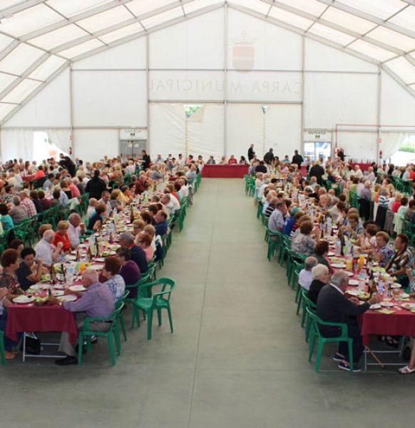 Carpas para comidas populares: la mejor solución para garantizar su celebración