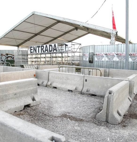 Circuito de acceso de seguridad en Festivales