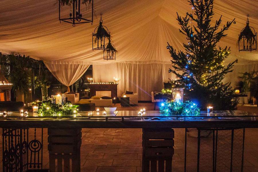 Carpas para bodas de invierno