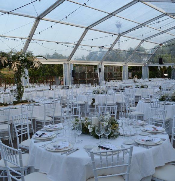 La importancia de alquilar una carpa para tu boda