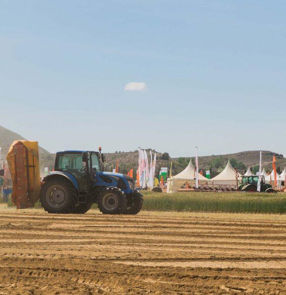 Las jaimas de Aracarpas, en la feria agrícola Demoagro 2019