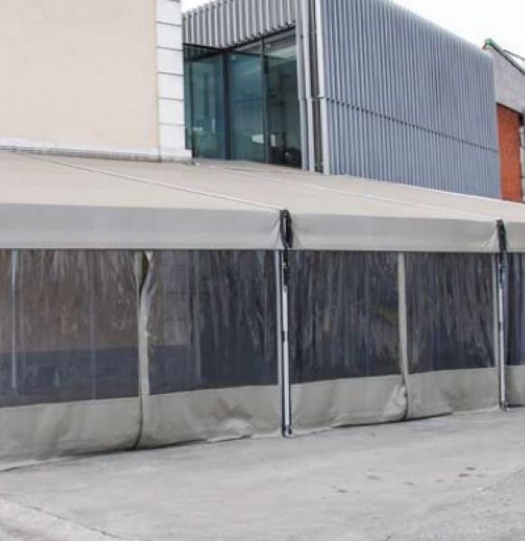 Carpas para terrazas de bares y restaurantes