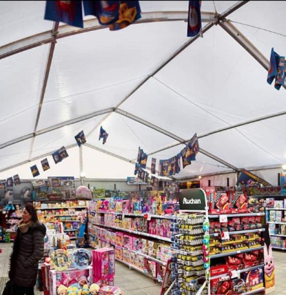 Aumenta las ventas de tu negocio con las carpas para la campaña de Navidad