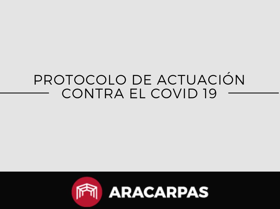 Protocolo contra el coronavirus