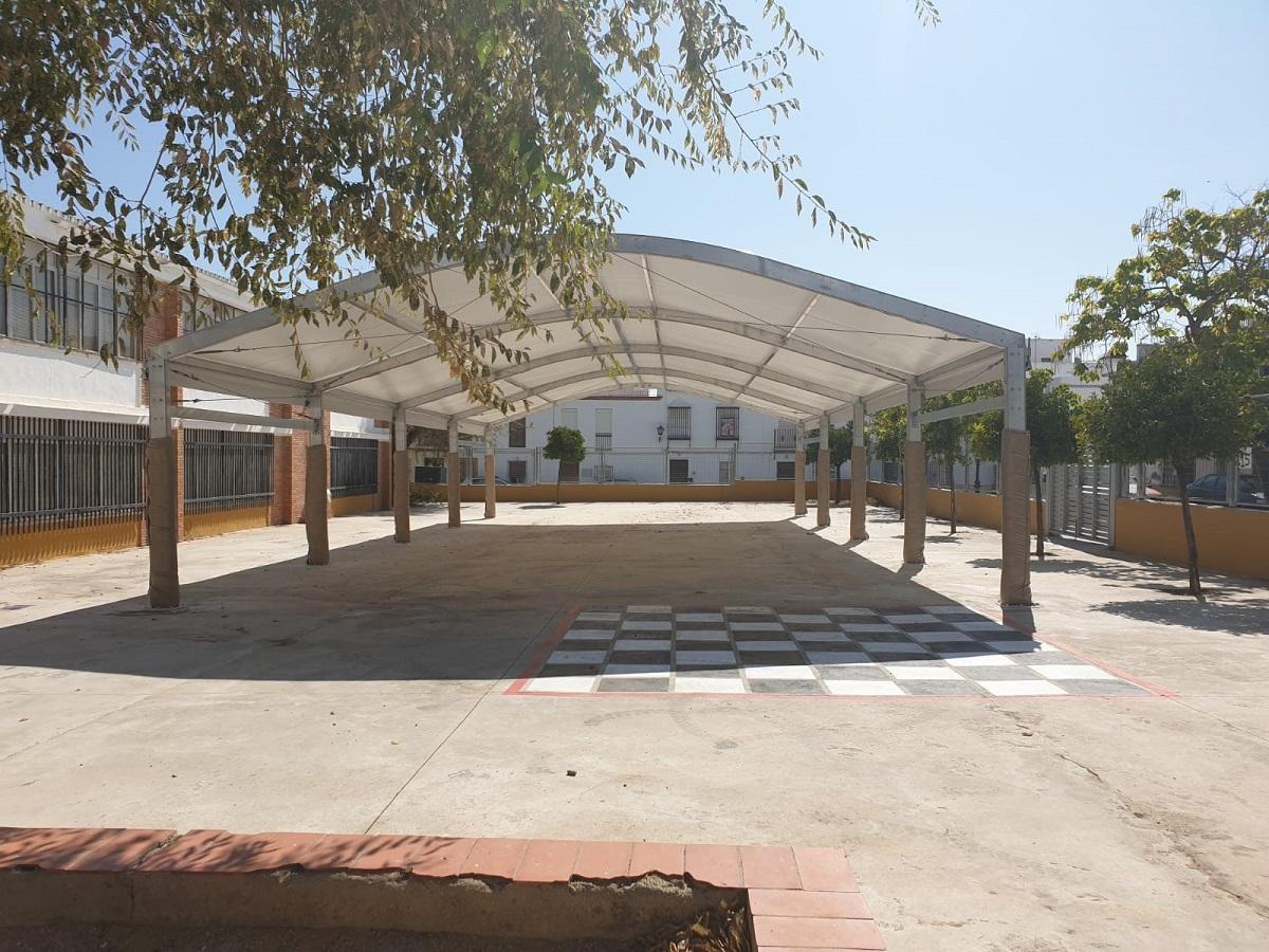 Carpas para patios escolares
