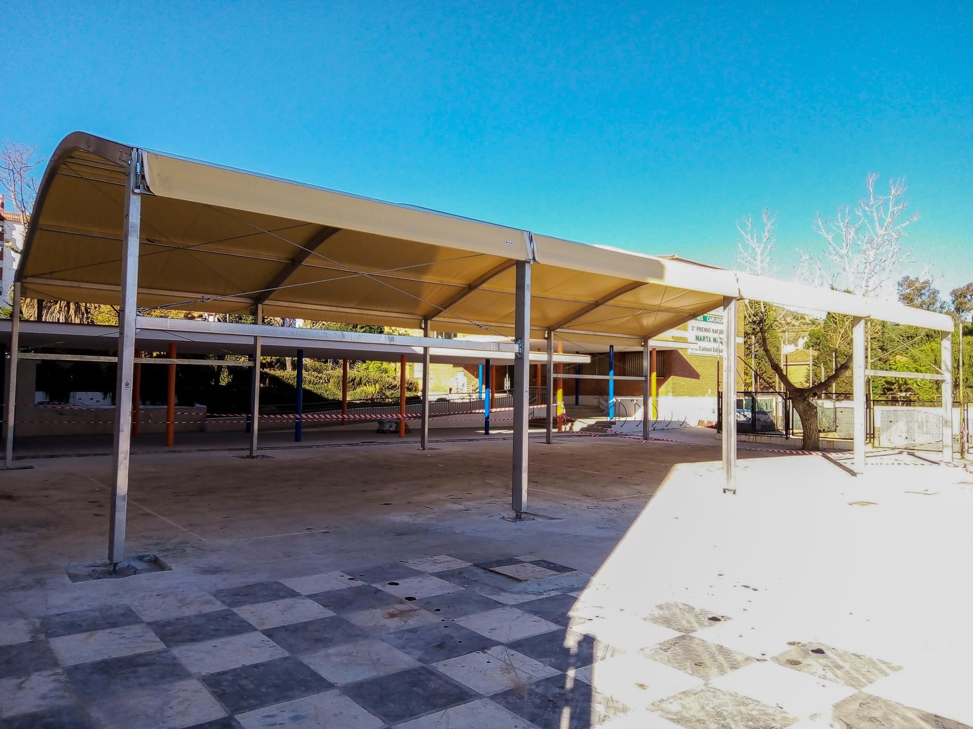 Carpas para colegios Andalucía