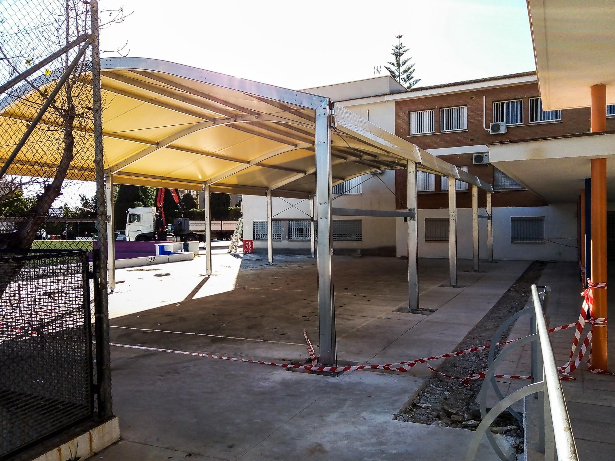Carpas para centros educativos Andalucía