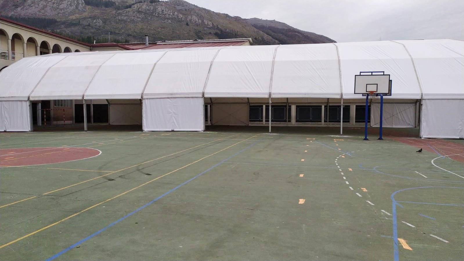 Carpas para colegios Euskadi