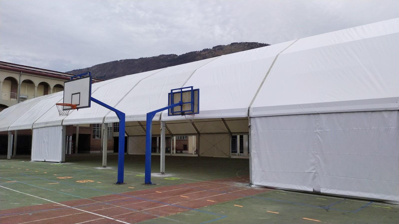 Carpas para colegios País Vasco