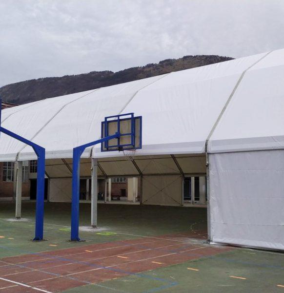 Carpas para colegios en el País Vasco