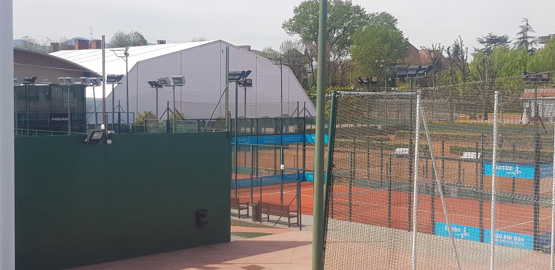 Carpas para complejos deportivos en el País Vasco